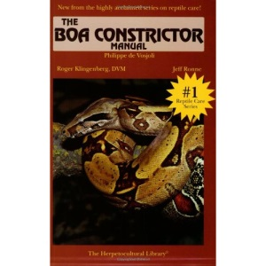 Boaconstrictor Manual (Herpetocultural Library)