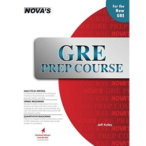 GRE Prep Course [With CDROM] (Nova's GRE Prep Course)