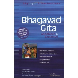 Bhagavad Gita: Annotated and Explained (SkyLight Illuminations)