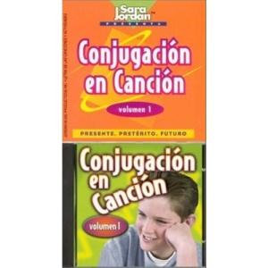 Conjugacion En Cancion: Presente, Preterito, Futuro v. 1 (Songs That Teach Spanish)