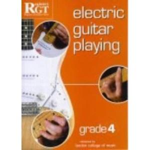 Electric Guitar Playing: Grade Four