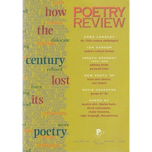How the Century Lost Its Poetry (Poetry Review)