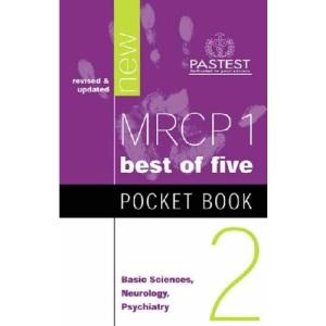 MRCP 1 Pocket Book 2: Basic Sciences, Neurology, Psychiatry (Multiple Choice Pocket Book)