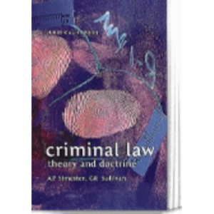 Criminal Law: Theory and Doctrine (Juridical Studies)