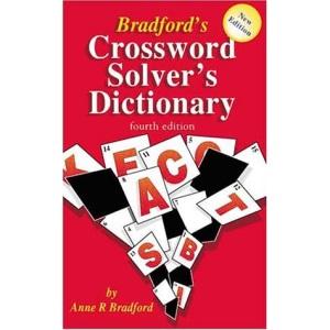 Bradford's Crossword Solver's Dictionary