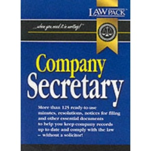 Company Secretary (When you need it in writing!)