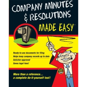 Company Minutes & Resolutions Made Easy