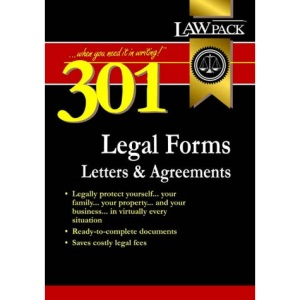 301 Legal Forms, Letters and Agreements (Legal Guides)
