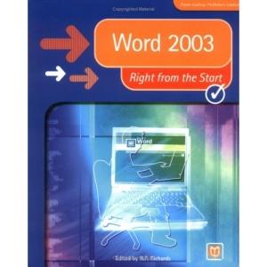 Word 2003 (Right from the Start) (Right from the Start guides)