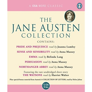 The Jane Austen Collection: Sense and Sensibility, Pride and Prejudice, Emma, Northanger Abbey, Persuasion AND The Watsons (Unabridged) (Csa Word Collection)