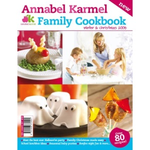 Annabel Karmel Family Cookbook Winter & Christmas 2008