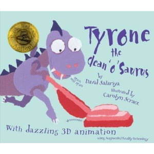 Tyrone the Clean 'o' Saurus (Book, Webcam, Action! Augmented Reality Book)