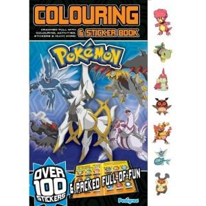 Pokemon Colouring & Sticker Book Winter 2010 (Annual 2011)