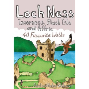 Loch Ness, Inverness, Black Isle and Affric: 40 Favourite Walks (Pocket Mountains) (Pocket Mountains S.)