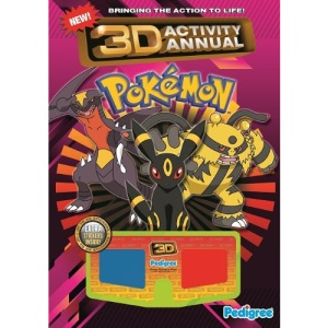 Pokemon 3D Activity Annual 2011 (Activity Annual 2011) (Activity Annual Spring 2011)