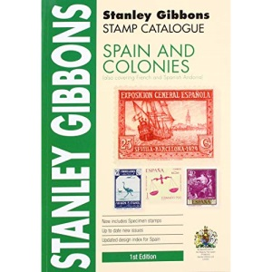 SPAIN AND COLONIES, 1ST EDITION