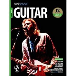 Rockschool Guitar Grade 3 (2018)