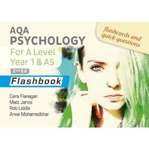 AQA Psychology for A Level Year 1 & AS Flashbook: 2nd Edition