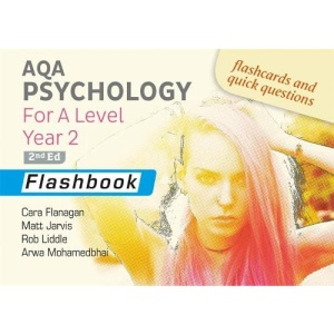 AQA Psychology for A Level Year 2 Flashbook: 2nd Edition