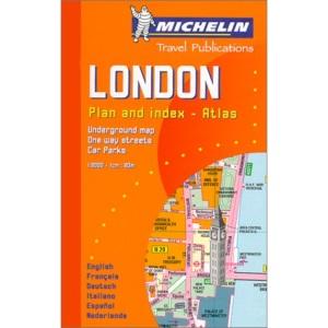 London Plan: No.2034 (Michelin City Plans)