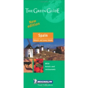 Spain Green Guide (Michelin Green Guides)