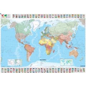 World 2003: Mit Staatsflaggen (Michelin Wall Maps)