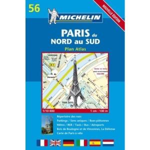 Paris Atlas: No.56 (Michelin City Plans)