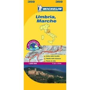 Marche and Umbria (Michelin Local Maps) (Michelin Regional Maps)