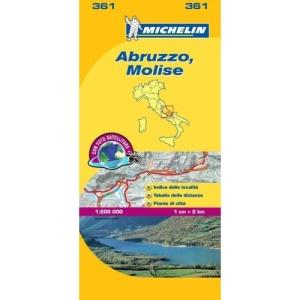 Abruzzo and Molise (Michelin Local Maps) (Michelin Regional Maps)