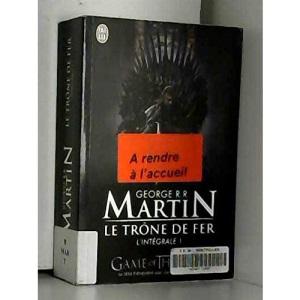 Le Trone De Fer, Integrale Volume 1 (Semi-Poche)