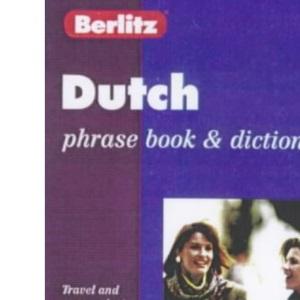 Berlitz Dutch Phrase Book and Dictionary (Berlitz Phrase Books)
