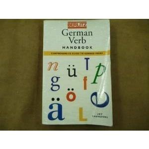 German Verbs Handbook (Berlitz Language Handbooks)