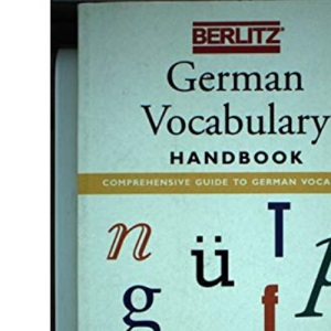 German Vocabulary Handbook (Berlitz Language Handbooks)