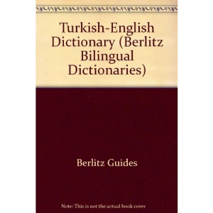 Turkish-English Dictionary (Berlitz Bilingual Dictionaries)