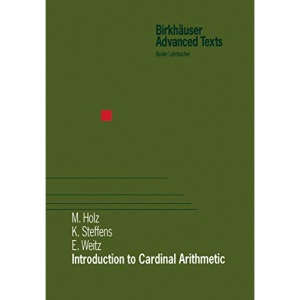 Introduction to Cardinal Arithmetic (Modern Birkhäuser Classics)
