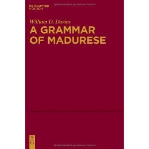 A Grammar of Madurese (Mouton Grammar Library [Mgl])