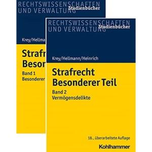 Strafrecht - Besonderer Teil Bd. 1 + Bd. 2 - Paket: Bd. 1: Besonderer Teil ohne Vermögensdelikte und Bd. 2: Vermögensdelikte