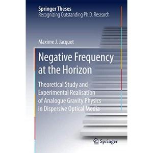 Negative Frequency at the Horizon: Theoretical Study and Experimental Realisation of Analogue Gravity Physics in Dispersive Optical Media (Springer Theses)