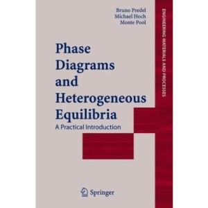 Phase Diagrams and Heterogeneous Equilibria: A Practical Introduction (Engineering Materials and Processes)
