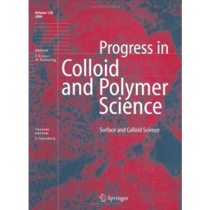 Surface and Colloid Science (Progress in Colloid and Polymer Science)