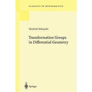 Transformation Groups in Differential Geometry (Classics in Mathematics)