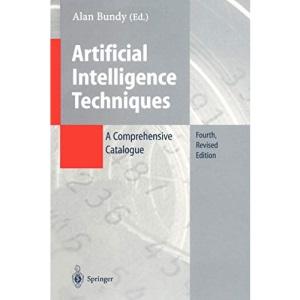 Artificial Intelligence Techniques: A Comprehensive Catalogue