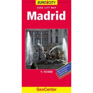Madrid City Map (GeoCenter City Maps)