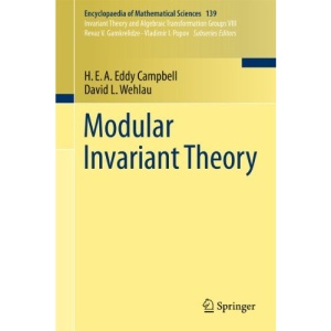 Modular Invariant Theory (Encyclopaedia of Mathematical Sciences)