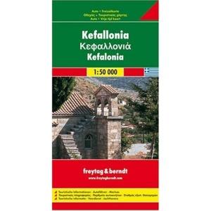 Kefallonia (Greece): Road Map (Freytag & Berndt Road Map) (Road Maps)