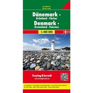 Denmark - Greenland - Faroe Islands: Wegenkaart 1:400 000