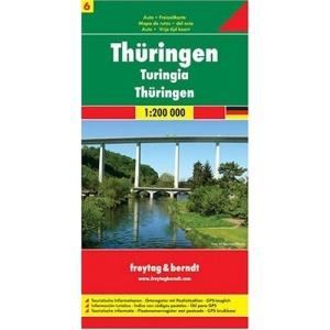 Thuringen GPS: Touristische Informationen. Ortsregister mit Postleitzahlen. GPS-tauglich