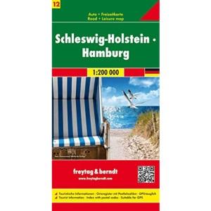 Schleswig - Holstein - Hamburg: Toeristische wegenkaart 1:200 000