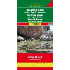 Croatia, North Istria Road Map: Istrien, Zagreb, Slawonien. Touristische Informationen. Ortsregister mit Postleitzahlen. GPS-tauglich (Road Maps)