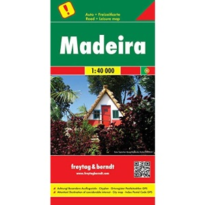 Madeira Road and Leisure Time Map